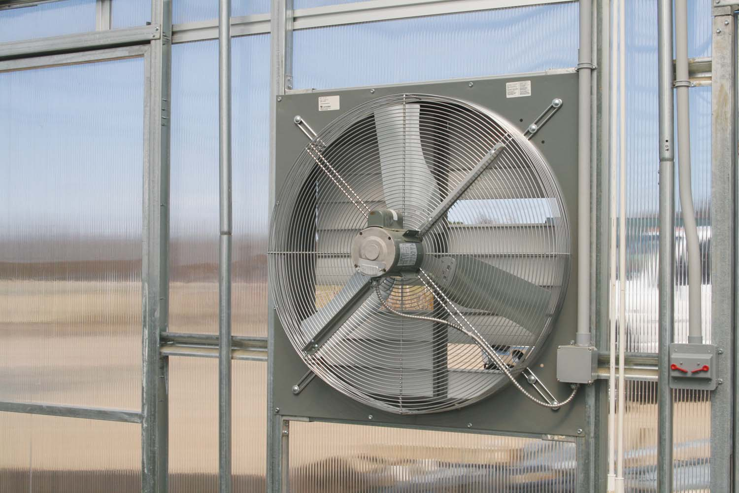 Greenhouse Shutter Fans : Greenhouse exhaust fans bing images