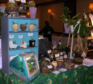 Texas Triffid Ranch display at a convention.