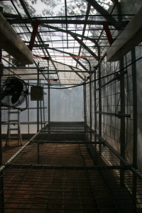 Durable greenhouse benches