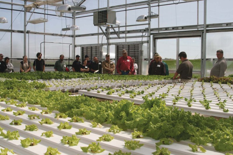 Growers Supply Technology Center Demonstration Greenhouse