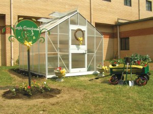 Small school greenhouse
