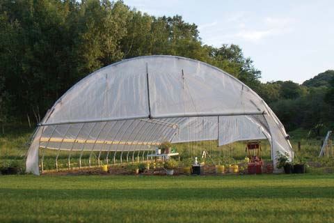 Series 500 Extra-Tall High Tunnels