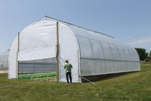 ClearSpan Series 500 Extra-Tall High Tunnels