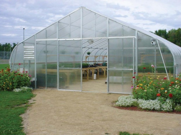 Premium Solar StarTM Gothic Style Greenhouse