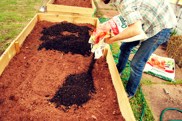 Adding Compost in the Fall