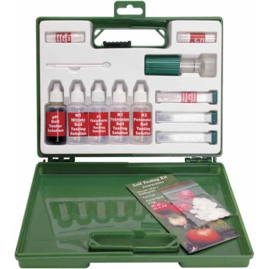 Soil testing kit from Growers Supply