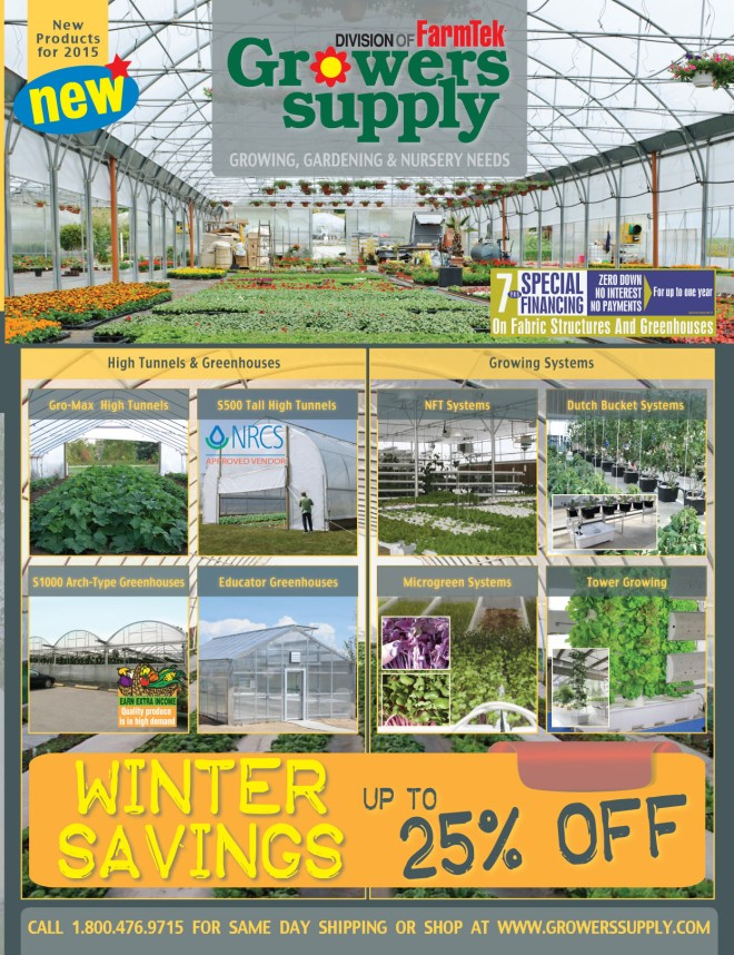 Growers Supply 2015 Catalog